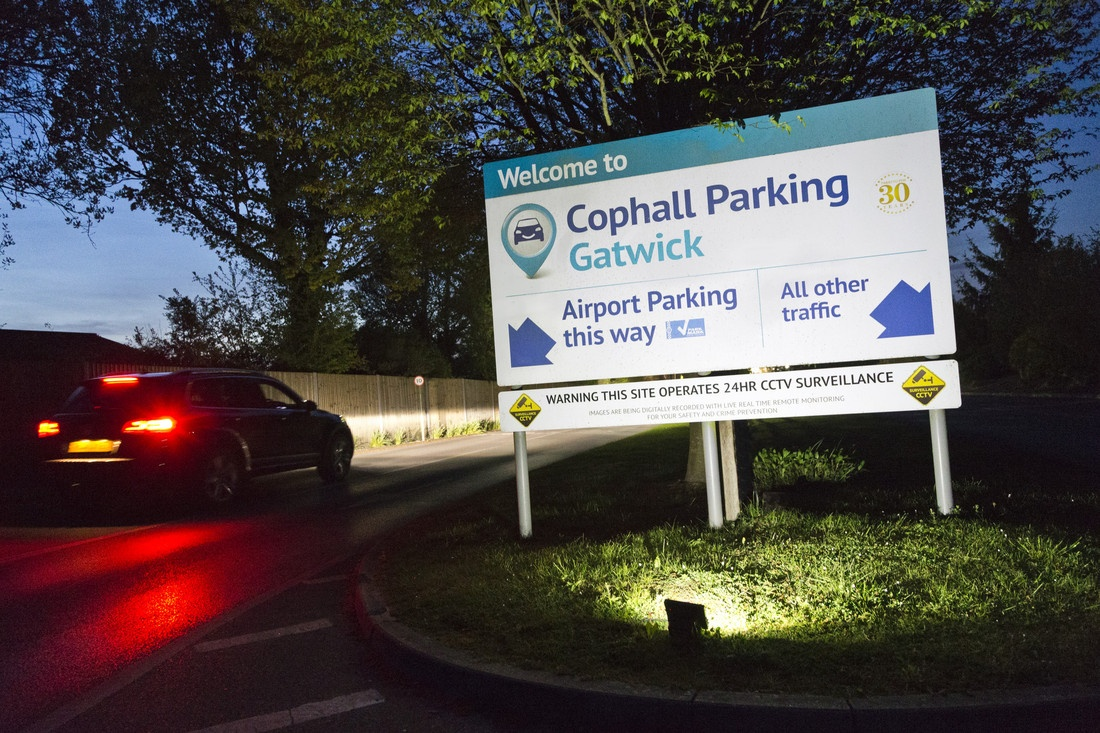 Gatwick parking at Cophall