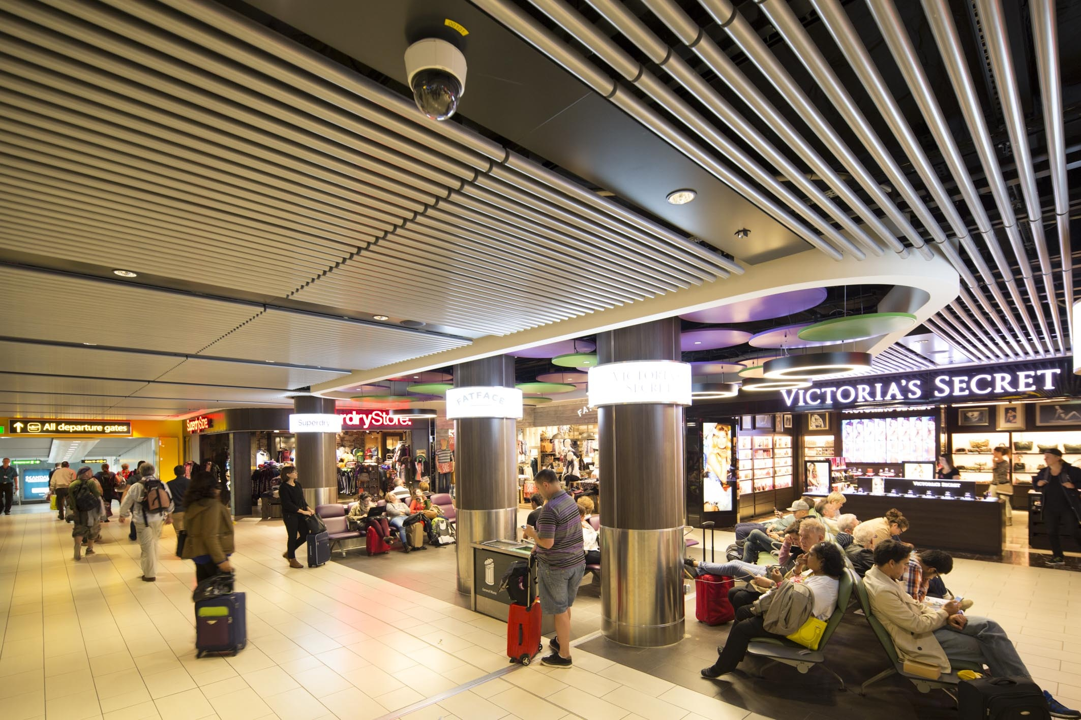 Inside Gatwick South Terminal