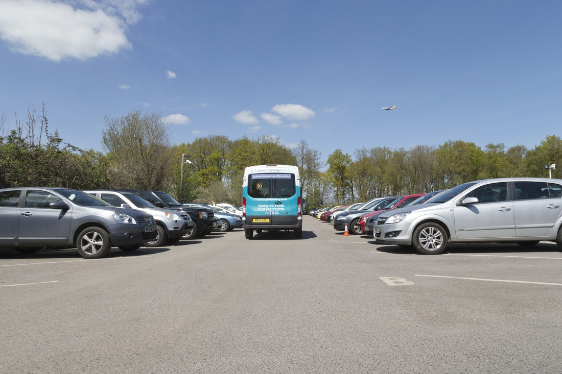 Official Gatwick Parking Accredited | Cophall Park & Ride